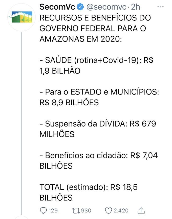 Manaus: onde está a montanha de dinheiro enviada pelo governo federal?