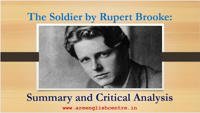 The Soldier by Rupert Brooke: Outline and Demanding Analysis