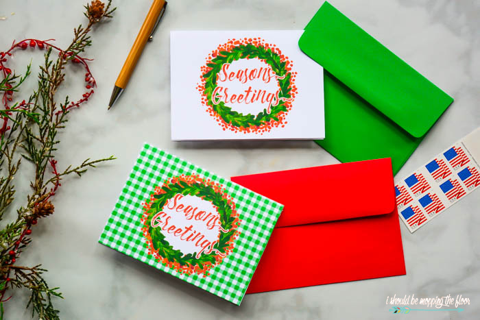 Free Printable Season's Greetings Cards
