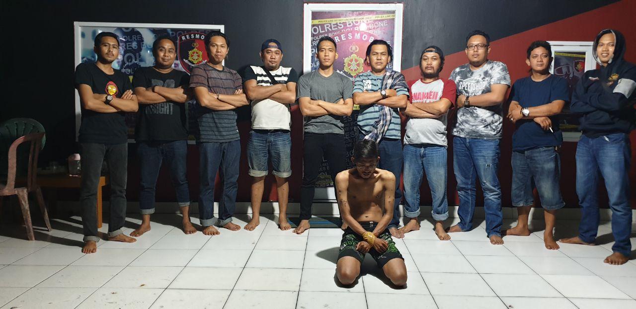 Resmob Polres Bone Berhasil Bekuk Pelaku Pencurian