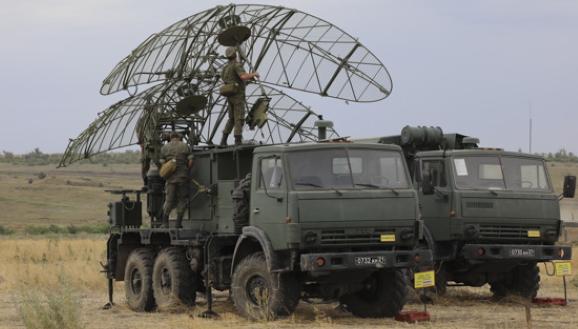 Російські радари в Україні на супутникових знімках