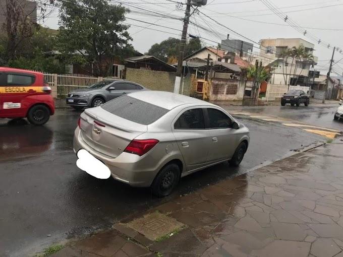 Tentou roubar um banco em São Leopoldo e foi preso pela Brigada Militar em Cachoeirinha