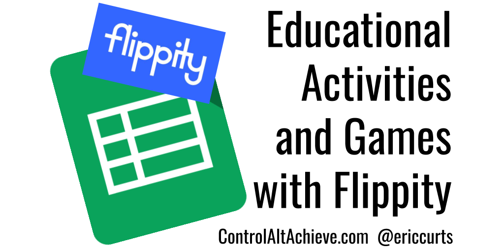 Educational Activities and Games with Flippity