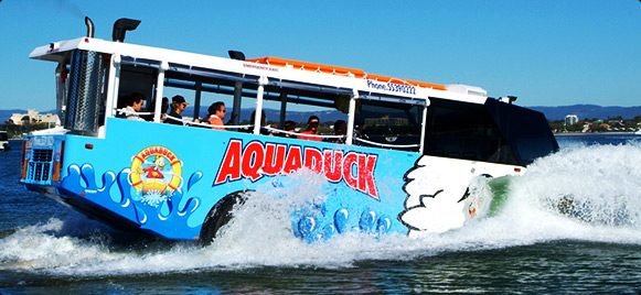 Aquaduck Safari City Tour and River Cruise