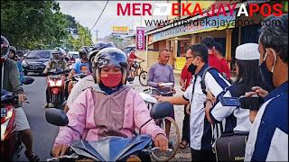 Insan Pers IPJT DPC Purworejo dan IRMA Tambakrejo Gelar kegiatan Berbagi Takjil di Bulan Ramadhan