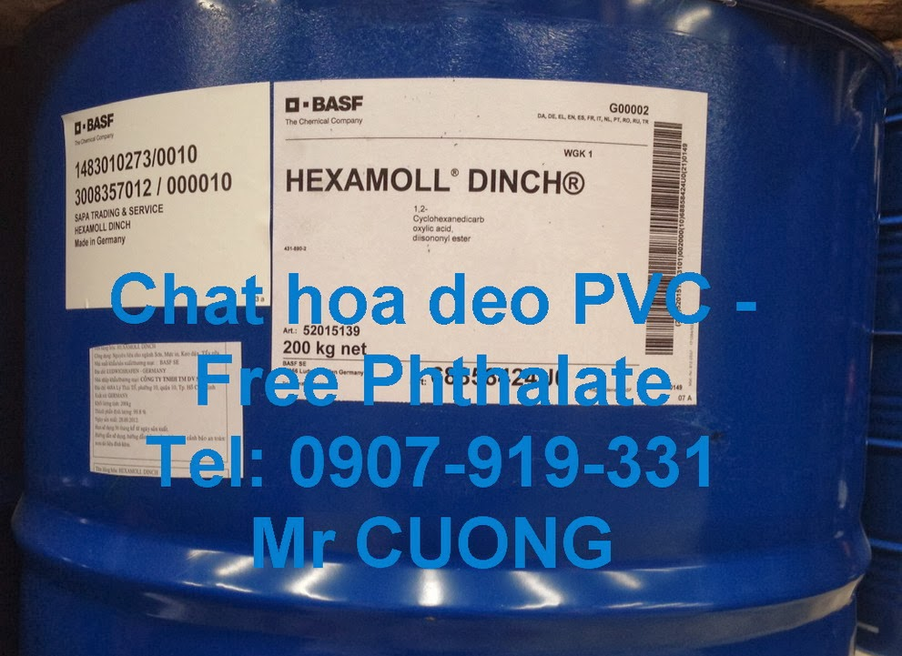 Hexamoll @ DINCH - Free Phthalate