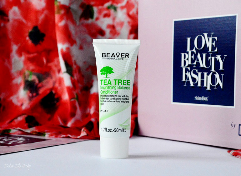 ShinyBox by DeeZee LOVE • BEAUTY • FASHION - Beaver Odżywka do włosów Tea Tree
