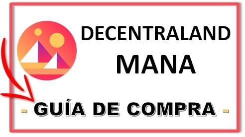 Comprar Decentraland MANA COIN Tutorial Español Fácil Rápido