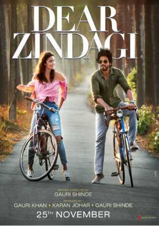 Dear Zindagi 2016 Full Hindi Movie Download BRRip 720p