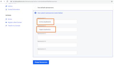 Cara Mendaftarkan Domain TLD IDCloudhost Ke Hosting Gratis Cloudflare