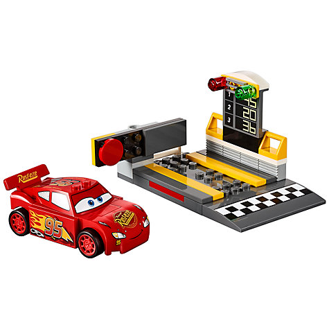 The LEGO Juniors Cars 3 Lightning McQueen Speed Launcher