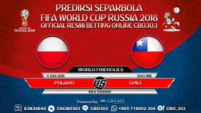 Prediksi Bola Poland VS Chile 09 Juni 2018