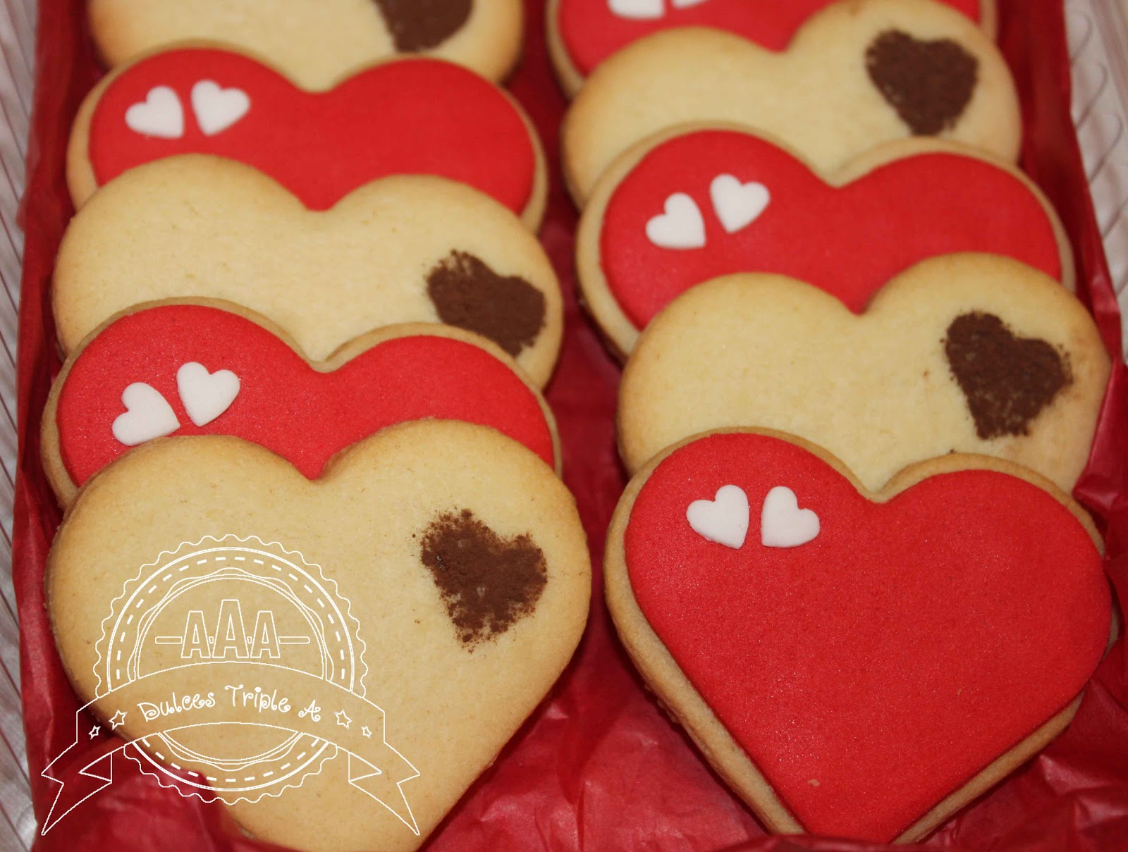 Galletas Decoradas San Valentin
