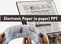 electronic paper ppt
