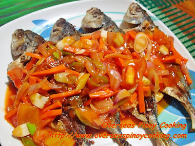 Sweet and Sour Alumahan Fish