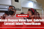 Kasus Dugaan Video Syur, Gabriella Larasati Jalani Pemeriksaan