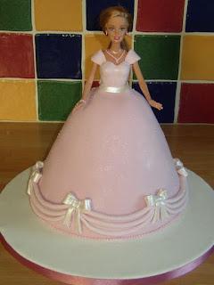 gambar kue ultah bentuk barbie