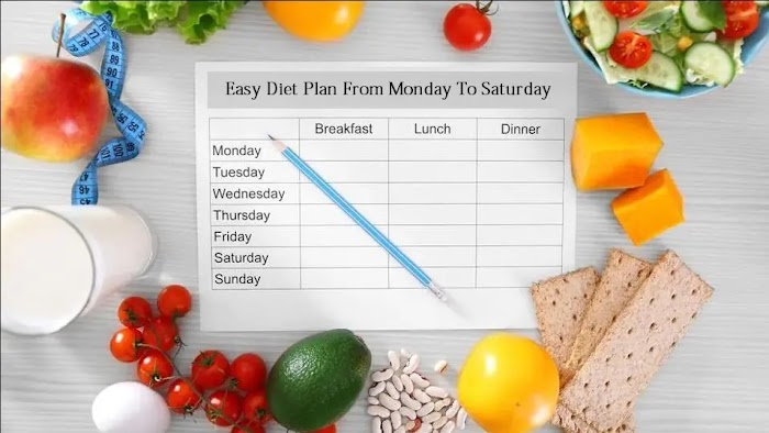 Lose Weight: Easy Diet Plan From Monday To Saturday!