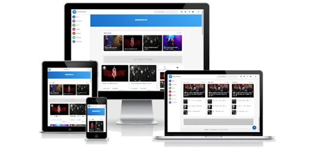 Masign Alpha style 2 Cloning Template Blogger - Premium & Gratiss