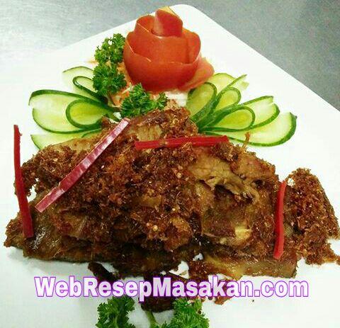 Empal Gepuk Serundeng, resep empal daging serundeng, Cara membuat empal daging sapi gepuk serundeng,