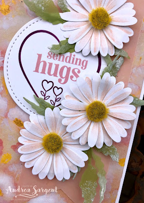 2020, Andrea Sargent, Annual Catalogue, Stampin Up, SU, Art With Heart, AWHT, blog hop, Creative Showcase, Designer Series Paper, Perennial Essence, Mini Catalogue, vellum,  Wink of Stella, Sharing Sunshine, Daisy Lane, Poppy Moments, Banner Triple punch, Medium Daisy punch, Stitched Shapes dies