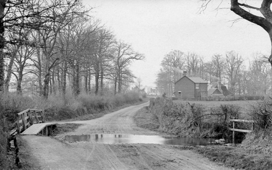 Photograph - Watersplash, Station Road, 1903. Originally known as Water Cross.