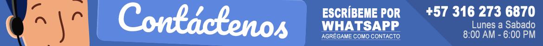 Contactenos. Luigi Tools | @LuigiTools | Grupo Creativo, Agencia de Publicidad. WhatsApp +57 3162736870