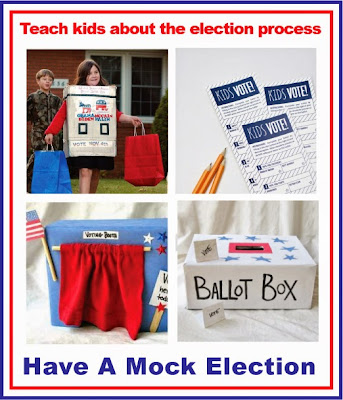 A great idea for the classroom at election time!