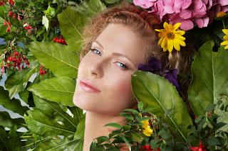 Maquillage fait maison avec des produits 100% naturels