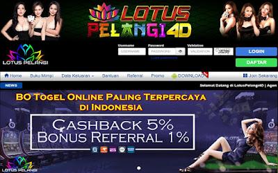 Lotus4D BO Togel Online Paling Terpercaya di Indonesia
