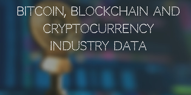 Bitcoin, Blockchain and Cryptocurrency Industry data