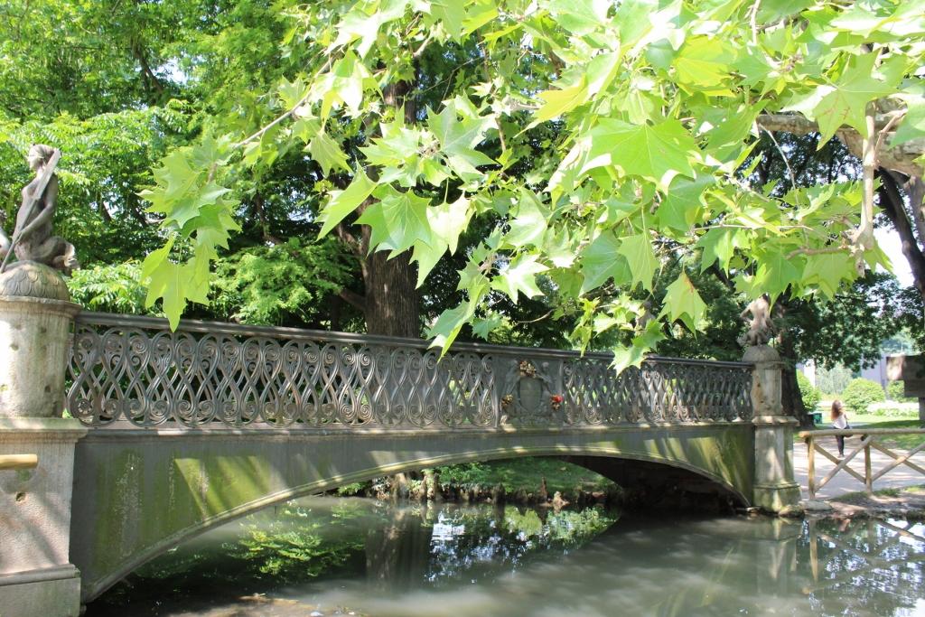 Bridge in Parco Sempione Milan