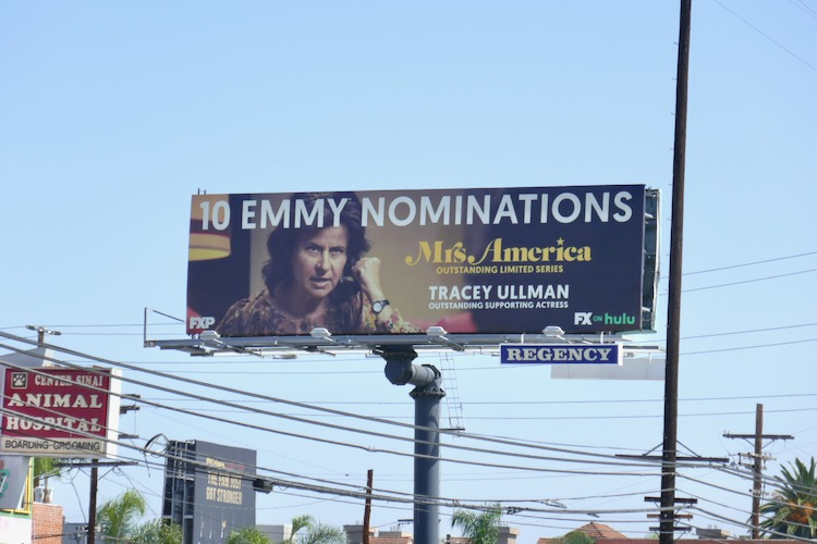 Tracey Ullman Mrs America Emmy nominee billboard