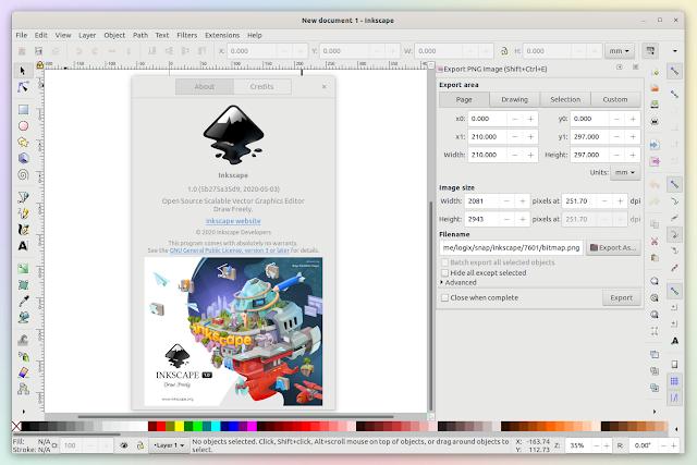 Inkscape 1.0 Linux