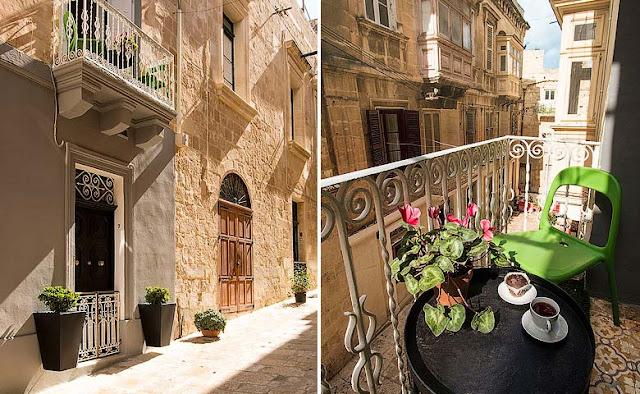 Valletta Vintage hotel con encanto en Malta chicanddeco