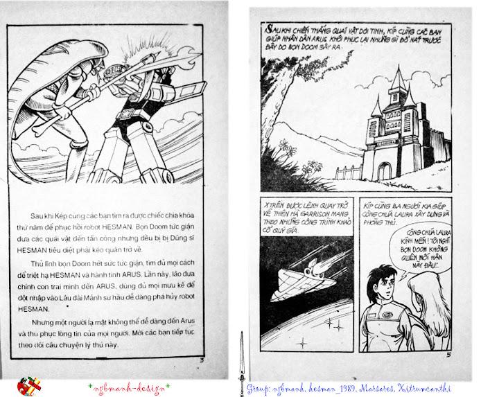 Dũng Sĩ Hesman tập 3 - mãng xà giả dạng trang 3