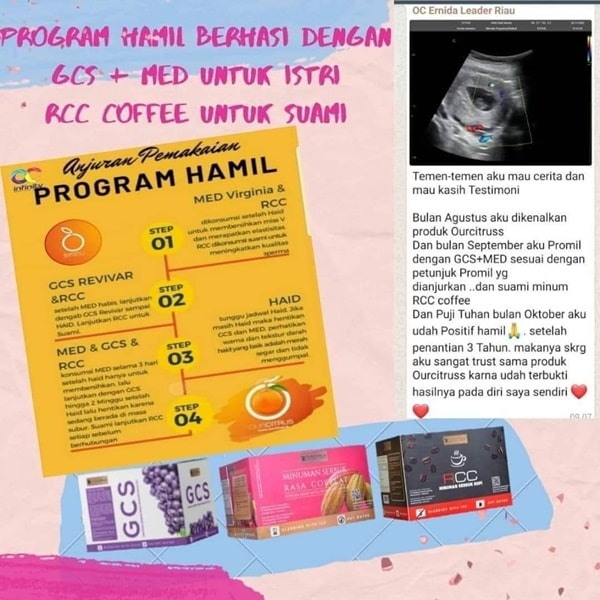 Testimoni program hamil