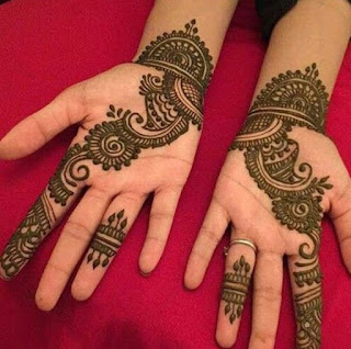 Bridal mehndi design pics and photos