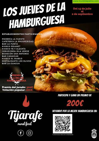 """Tijarafe apuesta por el consumo local con la campaña """"Los jueves de la hamburguesa"""""""