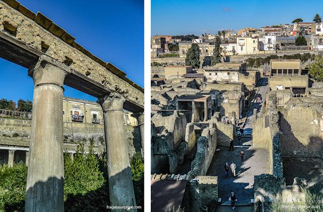 Sítio arqueológico de Herculano, Itália