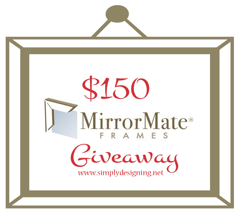 Win $150 to MirrorMate Frames to buy a new Bathroom Mirror Frame to instantly update and upgrade your bathroom in only about 10 minutes! | #diy #homeimprovement #homedecor #bathroom #bathroomremodel #remodel