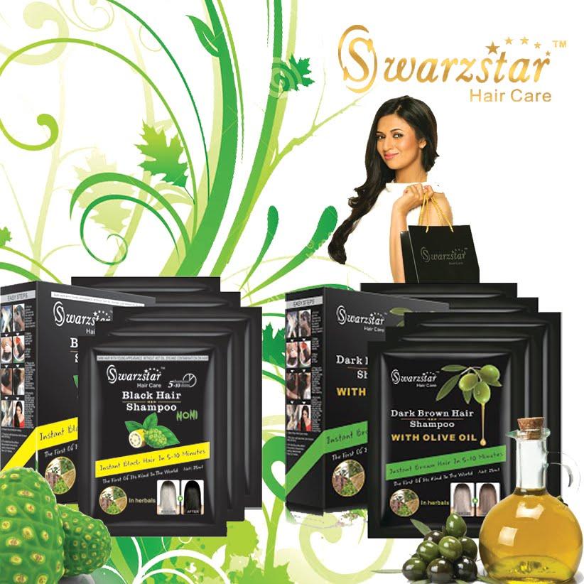 Swarzstar Hair Colour Shampoo