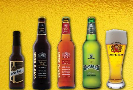 Μπύρες Corfu