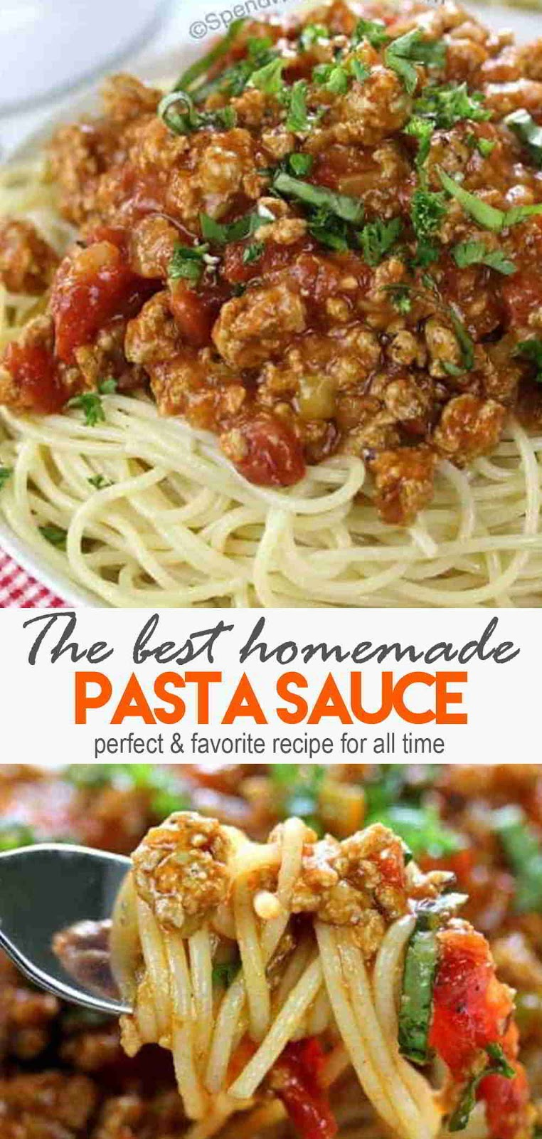 The Best Homemade Pasta Sauce #breakfast #pastarecipes