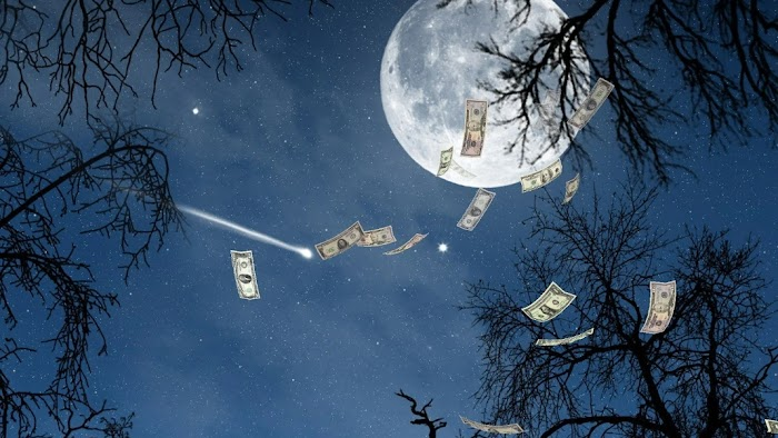Приманите деньги на Луну