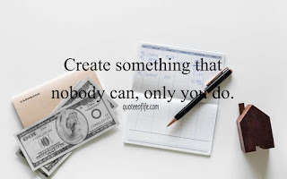 Short inspirational quotes for work with photo