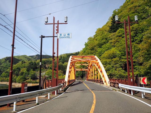 奥多摩湖 麦山橋