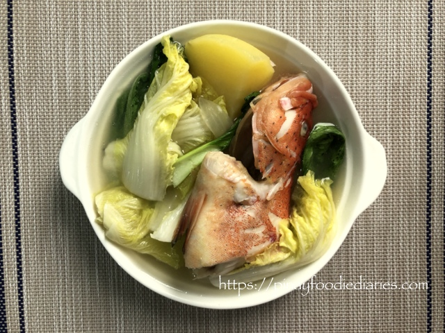 Recipes | Pesang Isda (Fish in Ginger Soup)