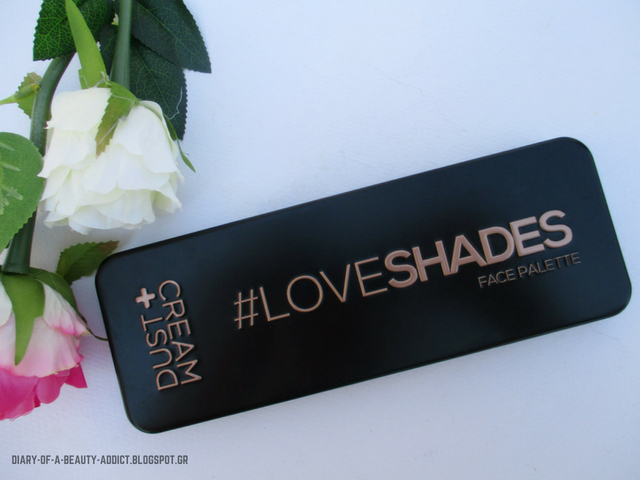 DUST+CREAM | Face Palette #LoveShades (Echoes) : Μια παλέτα και φύγαμε