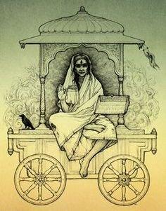 दुःख दारिद्रय शोक और मृत्यू की प्रधान देवता है भगवती धूमावती माँ l
